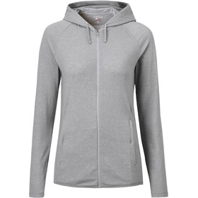 Craghoppers NosiLife Sydney Hooded Top Dame soft grey marl/black pepper